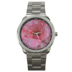 Pink Rose Sport Metal Watches