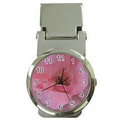 Pink Rose Money Clip Watches