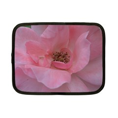 Pink Rose Netbook Case (Small)