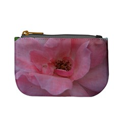 Pink Rose Mini Coin Purses