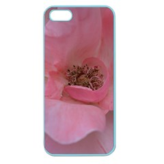Pink Rose Apple Seamless Iphone 5 Case (color) by timelessartoncanvas