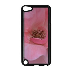 Pink Rose Apple iPod Touch 5 Case (Black)