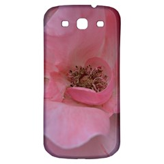 Pink Rose Samsung Galaxy S3 S III Classic Hardshell Back Case