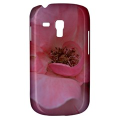 Pink Rose Samsung Galaxy S3 Mini I8190 Hardshell Case by timelessartoncanvas