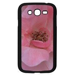 Pink Rose Samsung Galaxy Grand Duos I9082 Case (black) by timelessartoncanvas