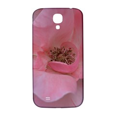 Pink Rose Samsung Galaxy S4 I9500/i9505  Hardshell Back Case by timelessartoncanvas