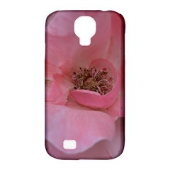 Pink Rose Samsung Galaxy S4 Classic Hardshell Case (PC+Silicone)