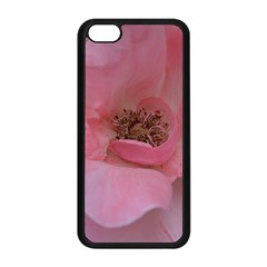 Pink Rose Apple Iphone 5c Seamless Case (black) by timelessartoncanvas