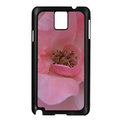 Pink Rose Samsung Galaxy Note 3 N9005 Case (black) by timelessartoncanvas