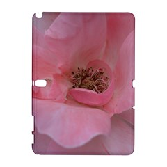 Pink Rose Samsung Galaxy Note 10 1 (p600) Hardshell Case by timelessartoncanvas