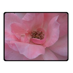 Pink Rose Double Sided Fleece Blanket (Small)