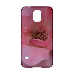 Pink Rose Samsung Galaxy S5 Hardshell Case