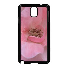 Pink Rose Samsung Galaxy Note 3 Neo Hardshell Case (black) by timelessartoncanvas