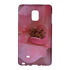 Pink Rose Galaxy Note Edge by timelessartoncanvas