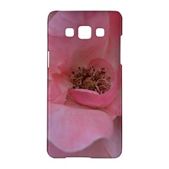Pink Rose Samsung Galaxy A5 Hardshell Case