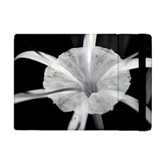 Exotic Black And White Flower 2 Ipad Mini 2 Flip Cases by timelessartoncanvas