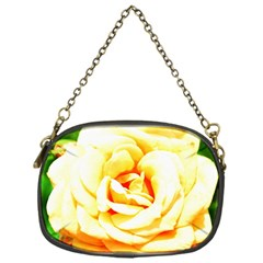 Orange Yellow Rose Chain Purses (one Side)  by timelessartoncanvas
