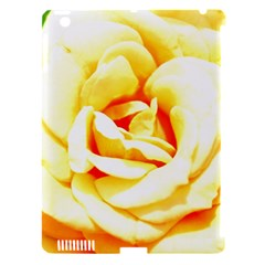 Orange Yellow Rose Apple Ipad 3/4 Hardshell Case (compatible With Smart Cover) by timelessartoncanvas