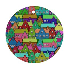 House 001 Ornament (Round)