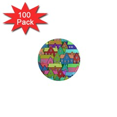 House 001 1  Mini Magnets (100 pack)