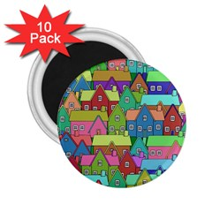 House 001 2.25  Magnets (10 pack)