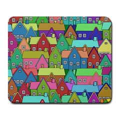 House 001 Large Mousepads