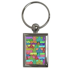 House 001 Key Chains (Rectangle)