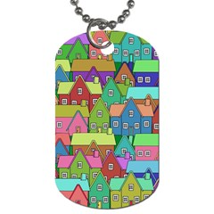 House 001 Dog Tag (Two Sides)
