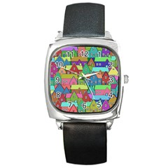 House 001 Square Metal Watches
