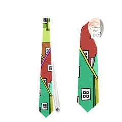 House 001 Neckties (Two Side)