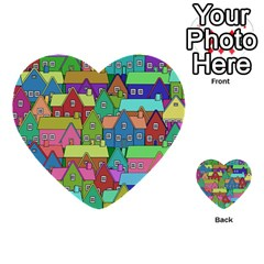 House 001 Multi-purpose Cards (Heart)