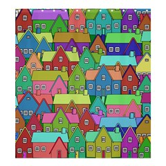 House 001 Shower Curtain 66  x 72  (Large)