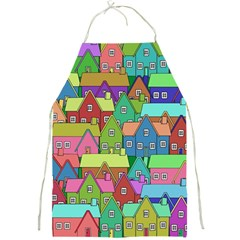 House 001 Full Print Aprons by JAMFoto