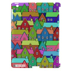 House 001 Apple iPad 3/4 Hardshell Case (Compatible with Smart Cover)