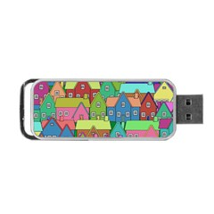 House 001 Portable USB Flash (Two Sides)