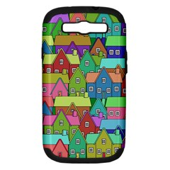 House 001 Samsung Galaxy S III Hardshell Case (PC+Silicone)