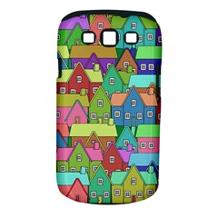 House 001 Samsung Galaxy S III Classic Hardshell Case (PC+Silicone)