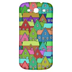 House 001 Samsung Galaxy S3 S III Classic Hardshell Back Case