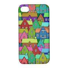 House 001 Apple iPhone 4/4S Hardshell Case with Stand