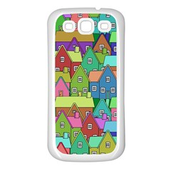 House 001 Samsung Galaxy S3 Back Case (White)