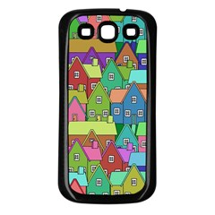 House 001 Samsung Galaxy S3 Back Case (Black)