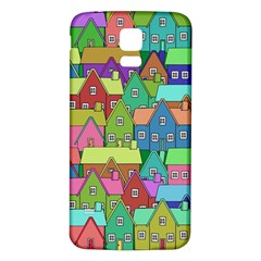 House 001 Samsung Galaxy S5 Back Case (White)