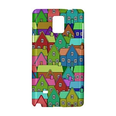 House 001 Samsung Galaxy Note 4 Hardshell Case