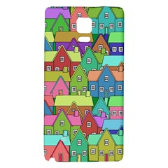 House 001 Galaxy Note 4 Back Case