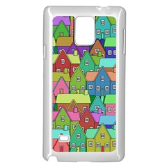 House 001 Samsung Galaxy Note 4 Case (White)