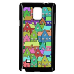 House 001 Samsung Galaxy Note 4 Case (Black)