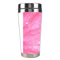 Pink Stainless Steel Travel Tumblers by timelessartoncanvas