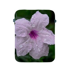 Pink Purple Flowers Apple Ipad 2/3/4 Protective Soft Cases by timelessartoncanvas