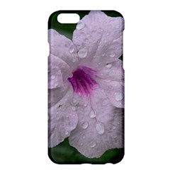 Pink Purple Flowers Apple Iphone 6/6s Plus Hardshell Case by timelessartoncanvas