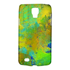 Abstract In Blue, Green, Copper, And Gold Galaxy S4 Active by digitaldivadesigns
